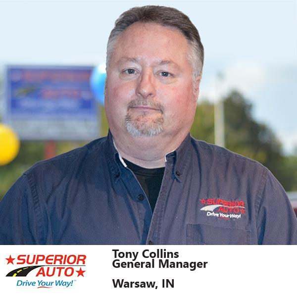 General Manager of Superior Auto, Inc. of Warsaw