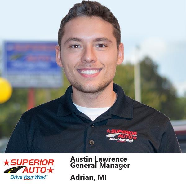 General Manager of Superior Auto, Inc. of Adrian